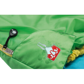 Grüezi-Bag Grow Colorful Schlafsack Kinder gecko green